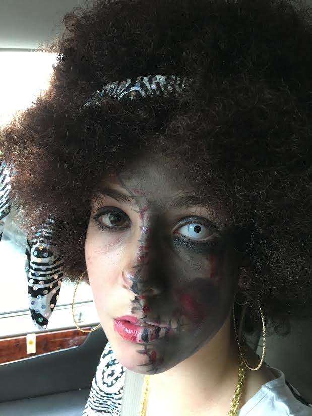 Char zombie halloween